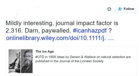 darwin tweet